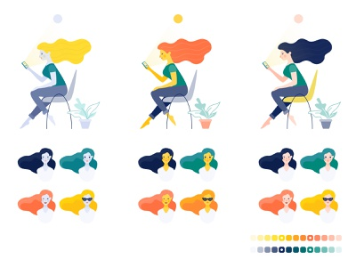Pibank web pibank bank motion character design ui illustration character after effects animation