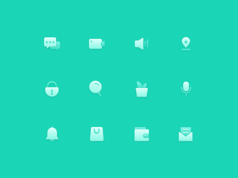 Green Icon sketch texture training color logo design icon ui