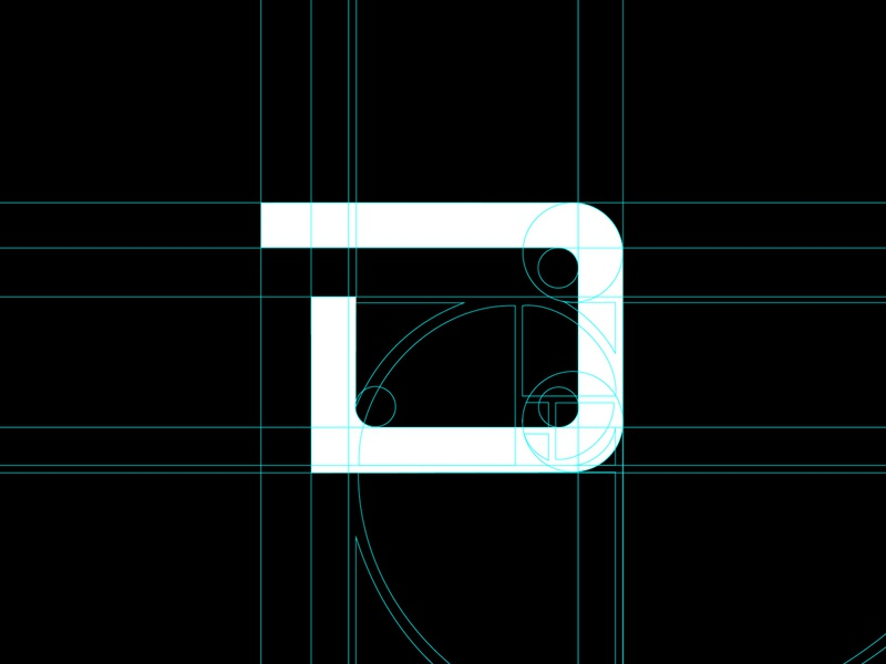Brand ID styling grid typography design graphic