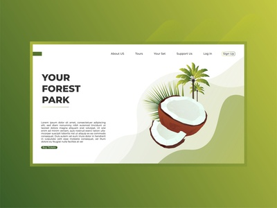 Your Forest Park landing page illustration
