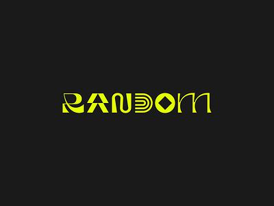 Random random lettering abstract design branding identity mark logo logotype