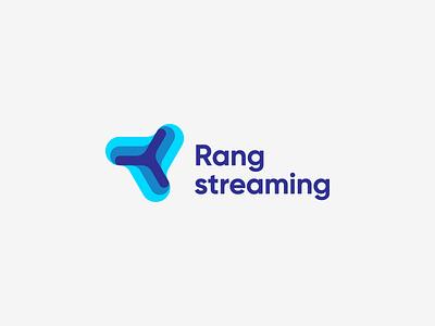 Rang streaming mark sign branding logotype logo gaming streaming boomerang