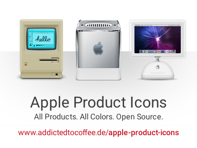 Retro Apple Products imac lamp imac g4 g4 cube powermac macintosh 128k macintosh open-source open source psd apple products apple
