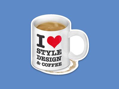 addicted to coffee - the sticker die cut sticker mule barista coffeenclock addicted to coffee coffee sticker