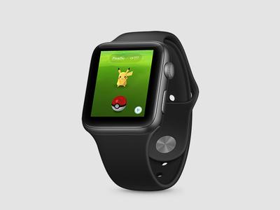 Pokemon Go for Apple Watch gottacatchemall pokemongo watch apple watch pokemon go pokemon