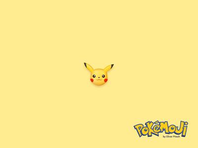 Pokémoji - Pikachu iconset icondesign icon emoji pokemon go pokemoji pikachu pokemon