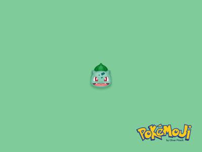 Pokémoji - Bulbasaur pokemon go pokemon pokemoji bisasam bulbasaur iconset icondesign icon emoji