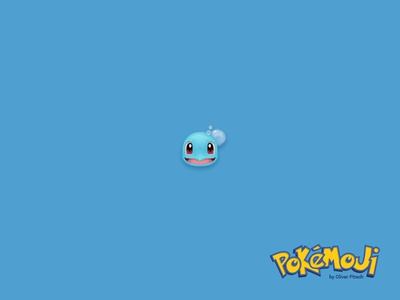 Pokémoji - Squirtle emoji icon icondesign iconset schiggy squirtle pokemoji pokemon pokemon go