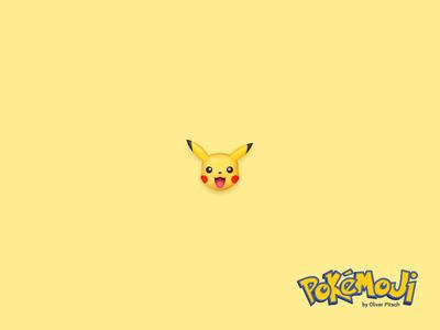 Pokémoji - Pikachu ⚡️ UPDATE ⚡️ iconset icondesign icon emoji pokemon go pokemoji pikachu pokemon