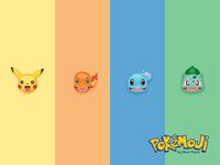 Pokémoji - The Starters