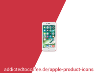 Apple iPhone 7 PRODUCT(RED) .psd