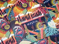 Navid Messin record sleeve