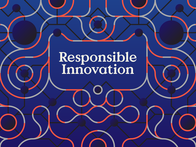 Responsible Innovation design line branding graphic design patterns line art innovation
