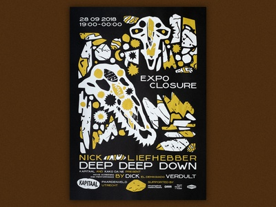 Deep Deep Down show closing poster