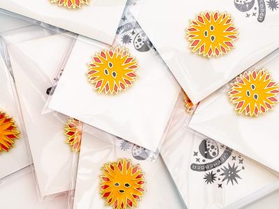 Enamel Sunpin Pack