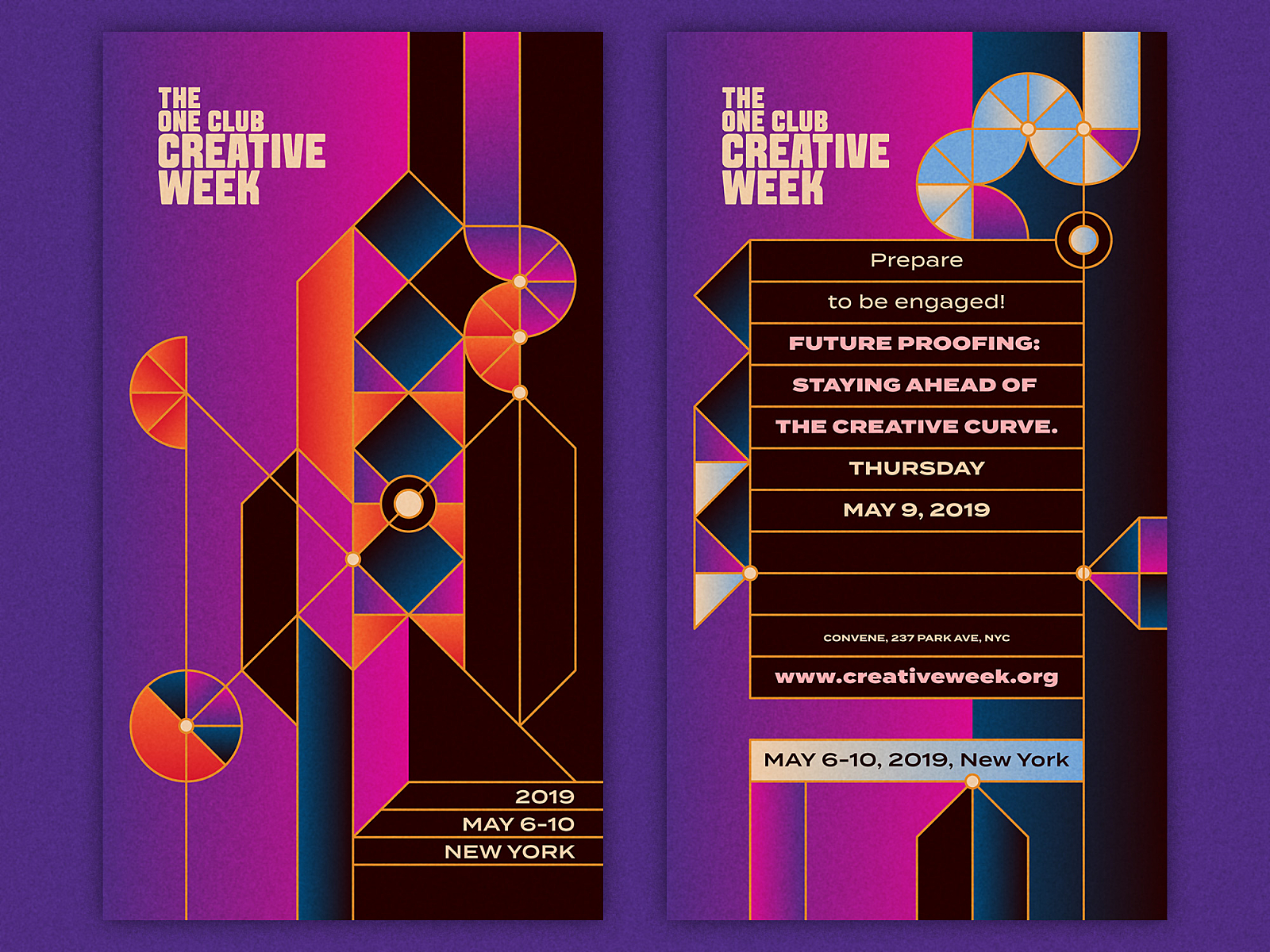 The One Club Creative Week Message System 1 by Nick