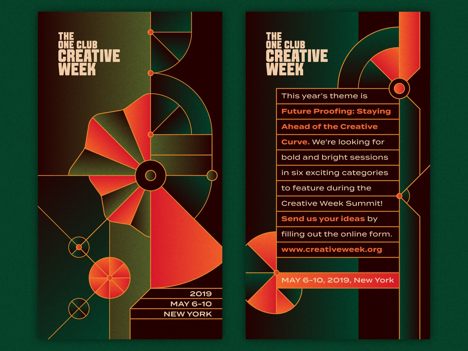 The one club creative week message system 2