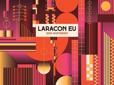 Laracon 2019 php laracon laravel conference developers developer illustration system grid system grid type design typography font icon illustrator design vector graphic design branding patterns illustration