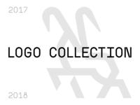 Logo collection animals restaurant cafe lettering branding identity logo