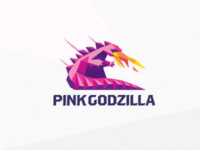 Pink Godzilla