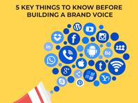 5 key things to know before building a brand voice