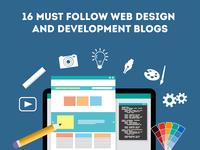 16 Must Follow Web Design and Development Blogs