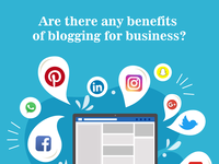Are there any benefits of blogging for business?
