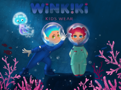 Characters for Winkiki wear. Part 1