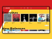 Walkman Music Service Concept