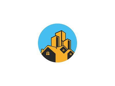 Building House datar animasi tipografi ux aplikasi web ilustrasi ui merek ikon antik minimalis logo vintage logo minimalis vektor logo desain