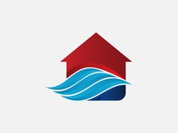 Coolling House Logo Template
