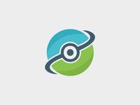 Eye Circle Logo Template