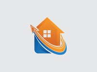 Up House Logo Template