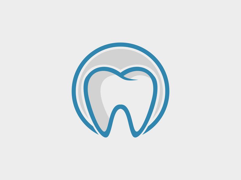 Dental Logo Template ilustrasi minimalis logo minimalis vektor logo desain dental logo dental care dental
