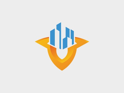Building Shield Logo Template