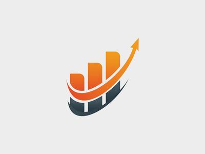 Up Market Logo Template