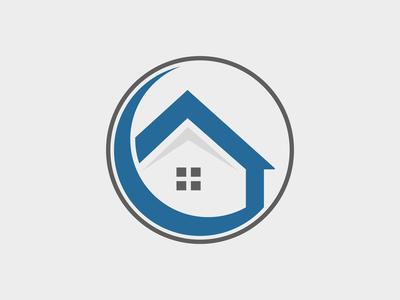 Home Circle Logo Template