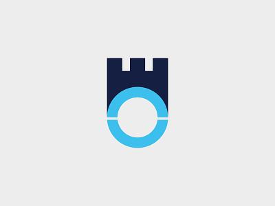 Castle Logo Template ilustrasi aplikasi web ikon logo vintage merek minimalis logo minimalis vektor logo desain