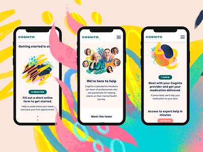 Cognito - Digital Design / Webflow graphic design brand startup digital ui ux site design digital design webflow branding
