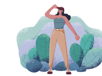 Me, acting up all high and mighty! cap illustrator affinitydesigner digitalart girl 2d design flat character colors vector illustration