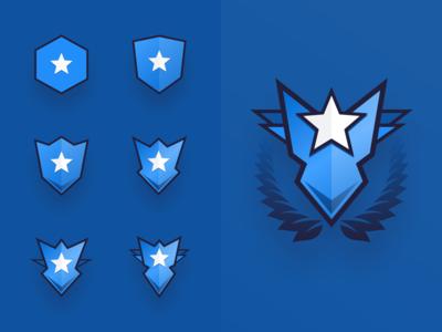 Game Progression Badges