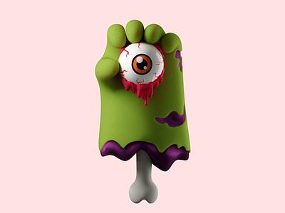Halloween Zombie Hands halloween zombie hand 3d art design 3d