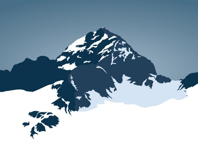 Triglav mountain triglav alps vector marmotamaps