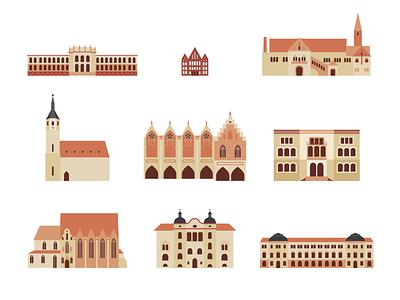 Brunswick germany icons buildings historic sight brunswick braunschweig