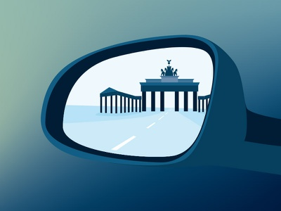 Taxidriver in Berlin hand vector illustrator illustration taxidriver driver drive taxi