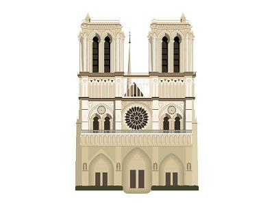 Notre-Dame de Paris bevofe 2019