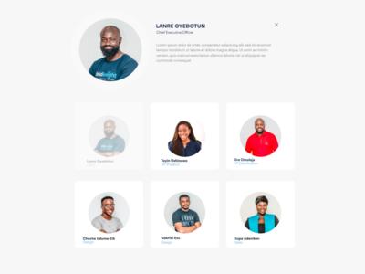 Team Layout Design