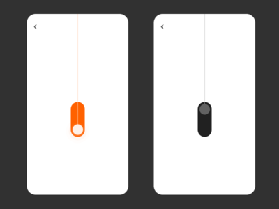 On/Off Switch - DailyUi #015