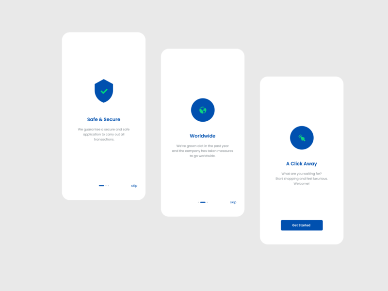 Onboarding page onboarding ux design ui