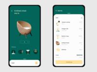 Online item store - Cart